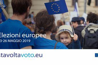 ELEZIONI EUROPEE 2019: IL 26 MAGGIO, SCEGLI IL TUO FUTURO!
