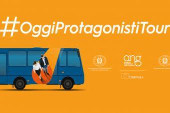 PARTE IL TOUR #OggiProtagonistiTour: 10 PIAZZE IN 10 REGIONI!