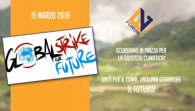 "15 MARZO 2019, IN PIAZZA PER ""GLOBAL STRIKE FOR FUTURE"""