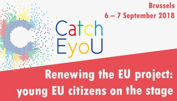 "CONFERENZA FINALE CATCH-EYOU ""RENEWING THE EU PROJECT: YOUNG EU CITIZENS ON THE STAGE"""