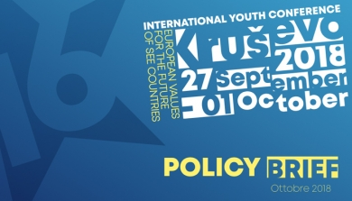 16th INTERNATIONAL YOUTH CONFERENCE A KRUSHEVO: ONLINE I RISULTATI