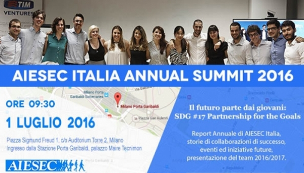 AIESEC ITALIA ANNUAL SUMMIT 2016  23/06/2016