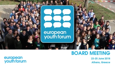 BOARD MEETING DELLO EUROPEAN YOUTH FORUM
