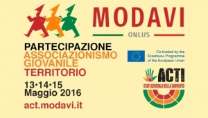 ACT: DAL 13 AL 15 MAGGIO YOUTH MEETING A TIVOLI TERME (RM)