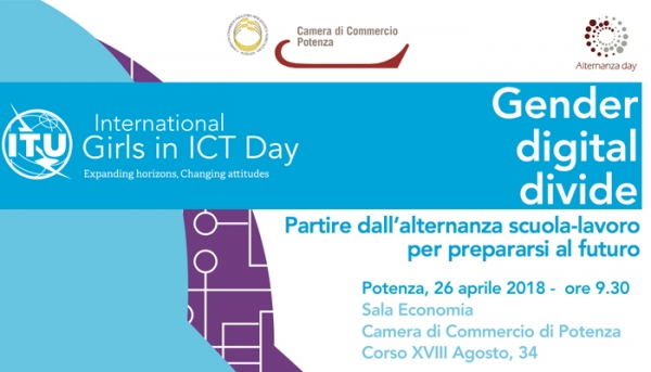"""INTERNATIONAL GIRLS IN ICT DAY"" A POTENZA IL 26 APRILE"