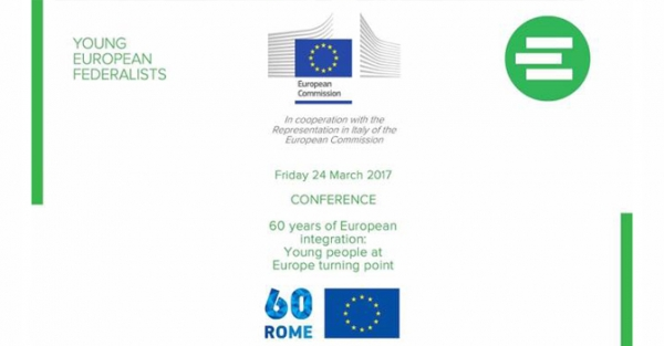 60 years of European integration: Young people at Europe turning point
