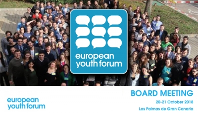 EUROPEAN YOUTH FORUM: RESOCONTO DEL BOARD MEETING DEL 20/21 OTTOBRE
