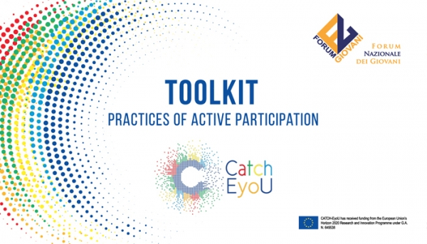 "PROGETTO CATCH E-YOU: PRESENTATO IL TOOLKIT ""PRACTICES OF ACTIVE PARTICIPATION"""